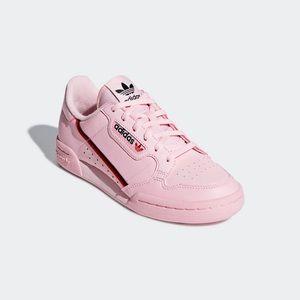 Adidas Pink continental 80s
